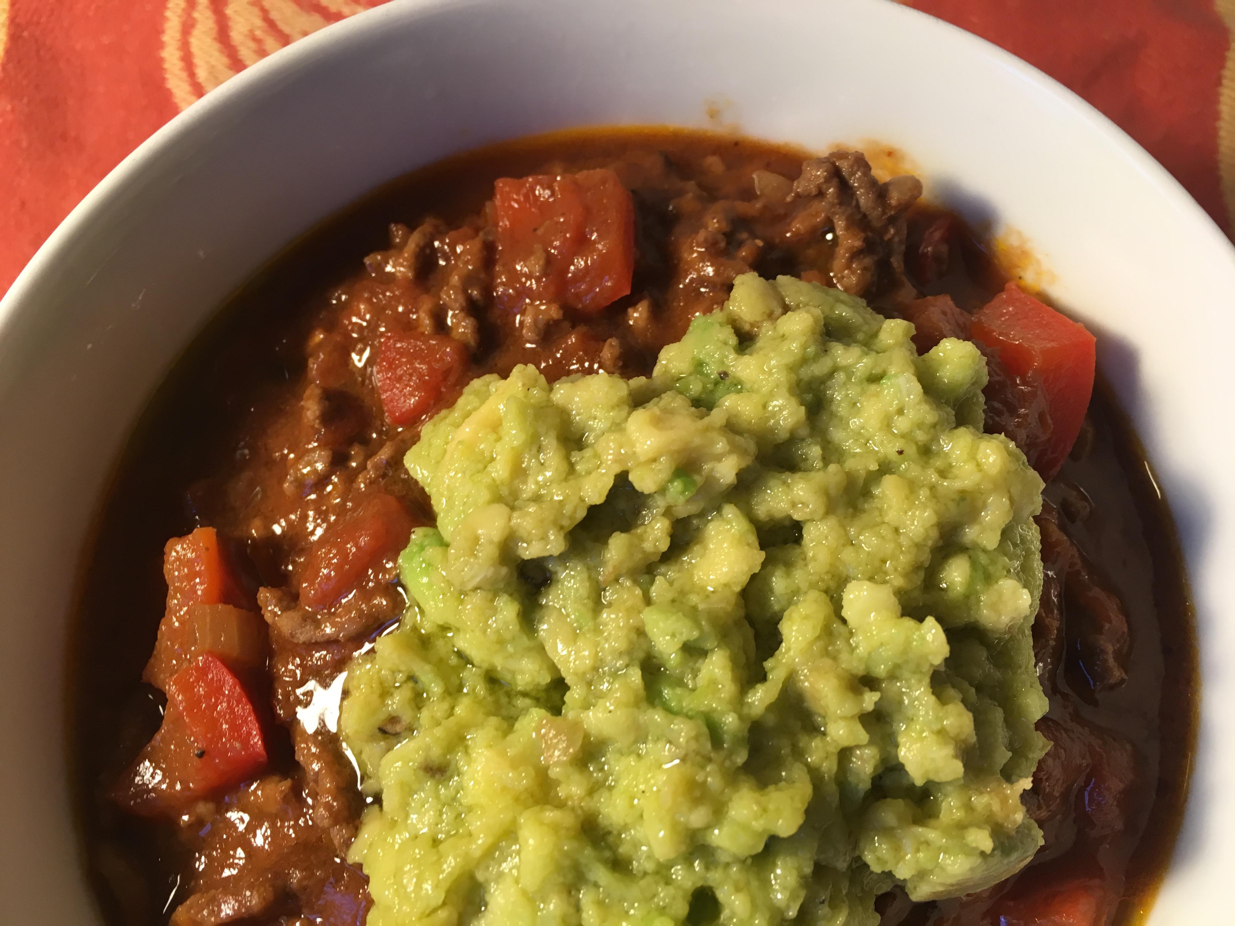 Chili Guacamole