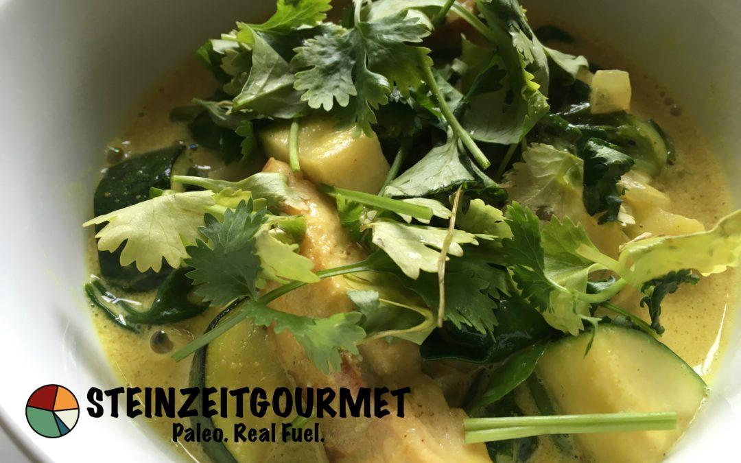 Paleo Rezept: Lachs mit Curry
